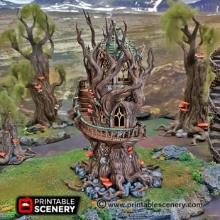 Elves Age of Sigmar Warhammer dungeons dragons pathfinder 3dprint