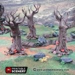 Painting Guide: Gloomwood Trees
