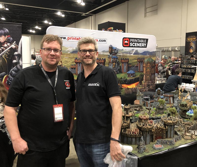 Adepticon 2019 Printable Scenery