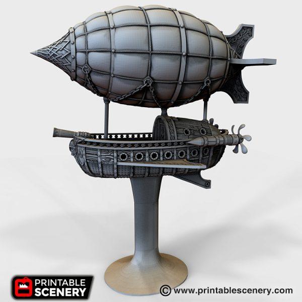 Dwarven Airship 3d printable