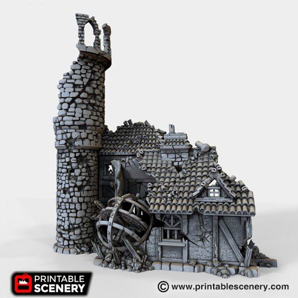 Ruined Navigators guild 3d printable