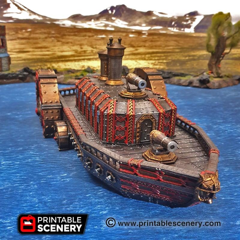 Steam Ironclad