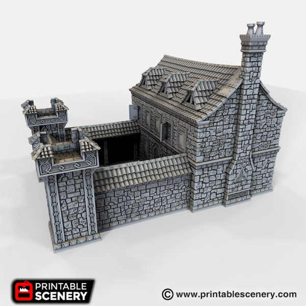 Ironhelm Barrack 3d printable