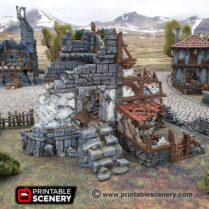 Ruined War Cottage