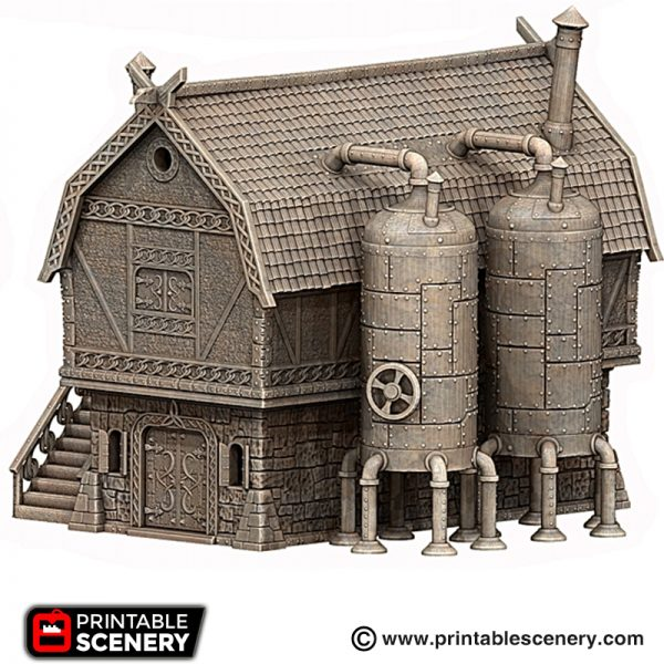 The Brewhouse 3d printable