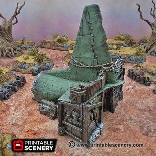 3d Printed Gaslands Fallout Post-Apocalypse