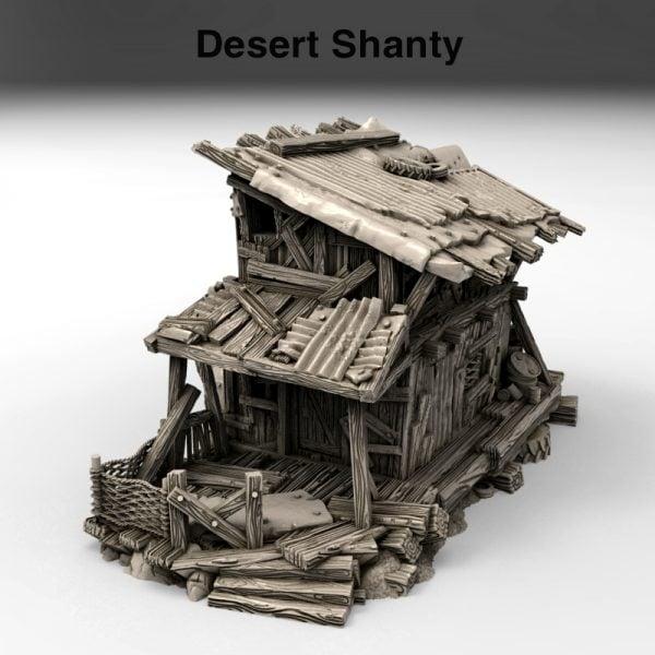 3d Printed Desert Shanty Gaslands Fallout Post-Apocalypse