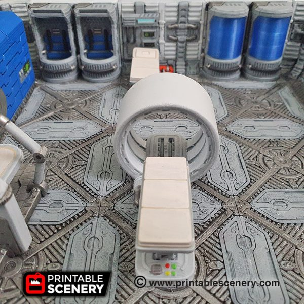 3d Printable sci-fi 40k infinity Moonbase furniture