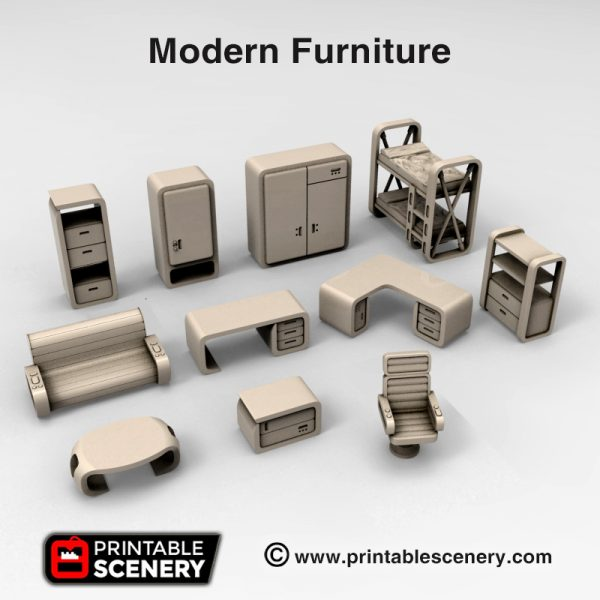 sci-fi 40k Modern Furniture