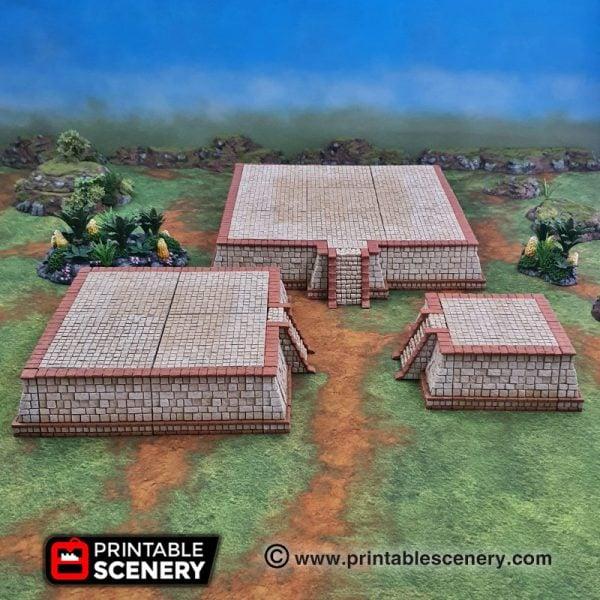3d printed Serpahon Lizardmen Mayan Aztec OpenLOCK
