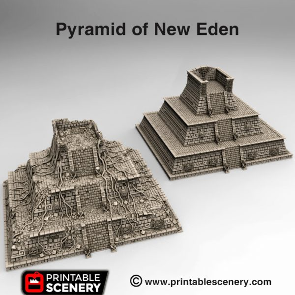 3d print Pyramid of New Eden Serpahon Lizardmen Mayan Aztec