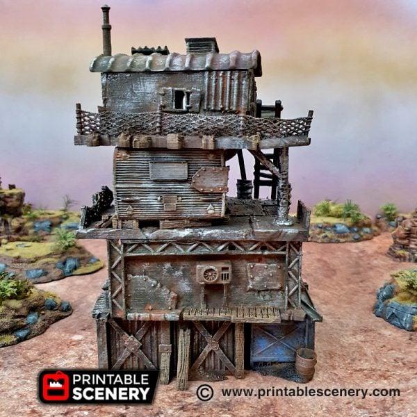 3d Printable Slum stacks Gaslands fallout wasteland warfare Wasteworld