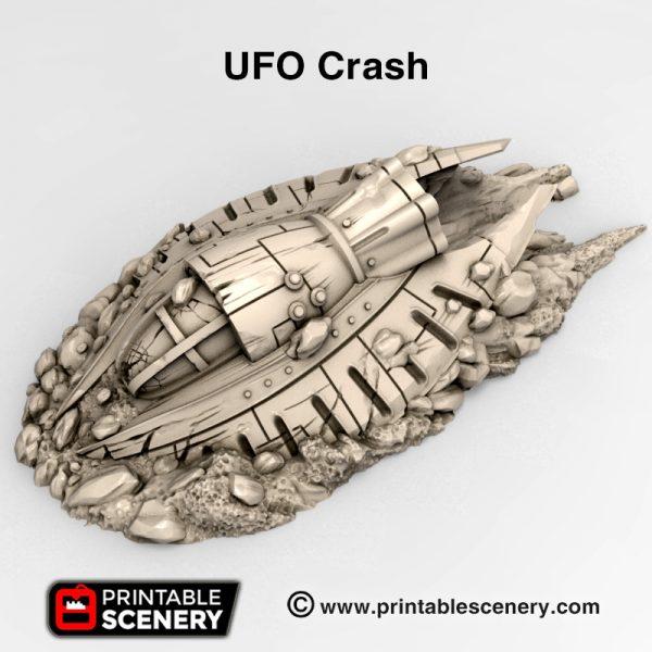 3d print UFO crash Wastelands gaslands