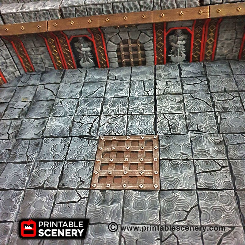image relating to Dungeons and Dragons Tiles Printable identify Ironhelm Stone Surface