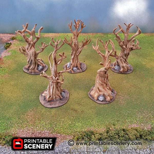 Clorehaven Canopy Trees Wilderness Forest Dungeons and Dragons RPG 3Dprrinted