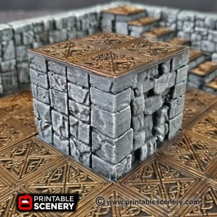 Rampage Dungeons and Dragons RPG 3Dprinted