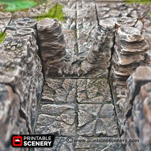 Caverns Quarry Dungeons and Dragons RPG 3Dprinted