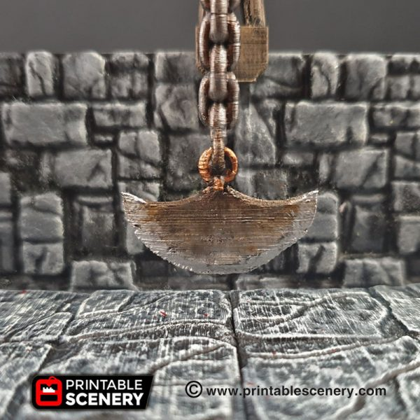 Dungeons and Dragons RPG 3Dprinted Traps