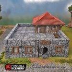 Schist Low Walls
