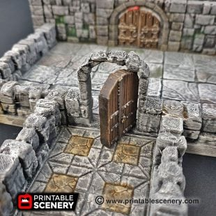 Dungeons and Dragons RPG 3Dprinted Rampage OpenLOCK