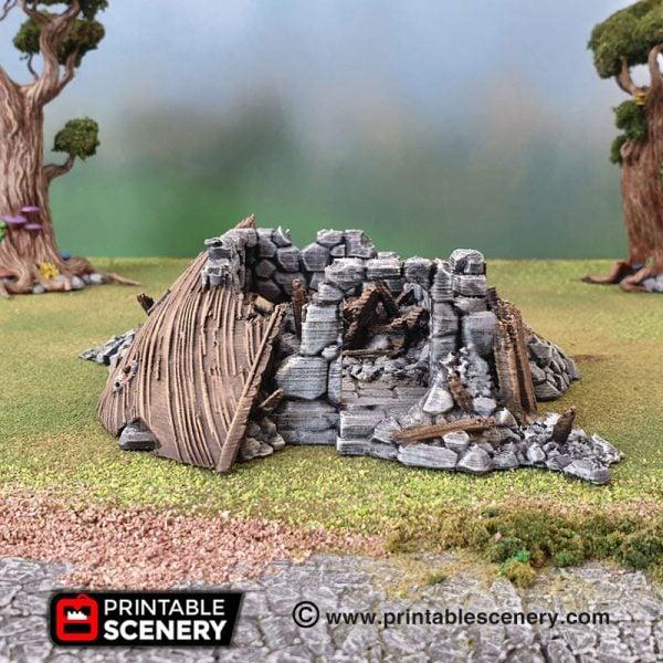 Ruins Frostgrave Mordheim Age of Sigmar Warhammer dungeons dragons pathfinder 3dprint