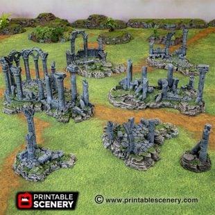 Ancient Ruins 3d printable