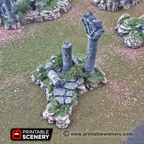 Goblin Grotto Cavern Ruins Freeform Dungeons and Dragons RPG 3Dprinted