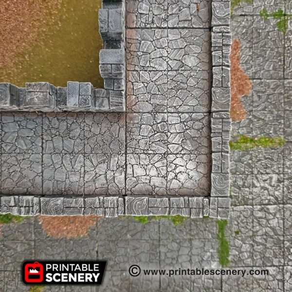 Clorehaven Dungeons and Dragons RPG 3Dprinted City