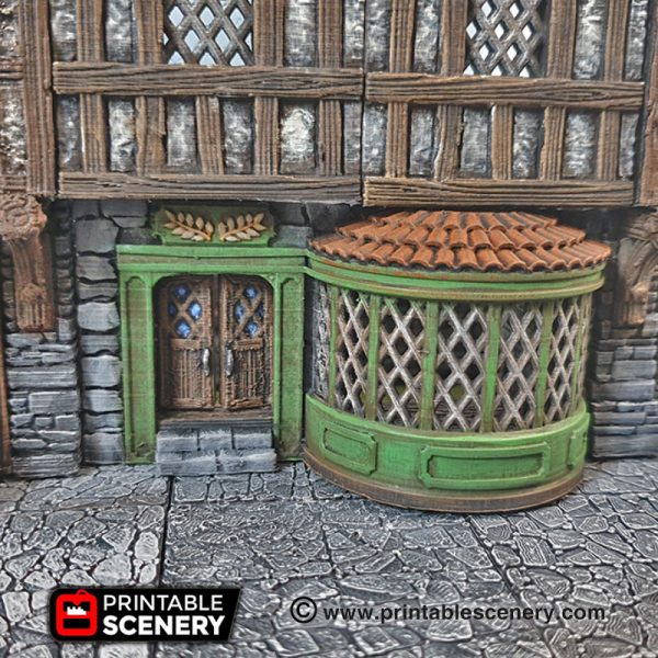 3D Printed Dungeons And Dragons Shop Front Bakery