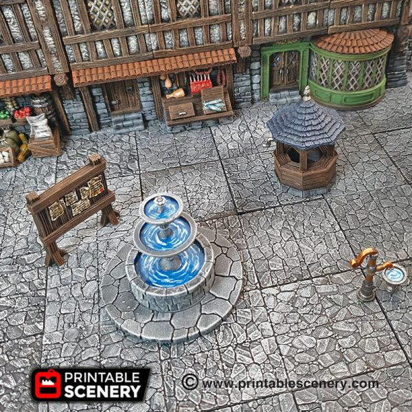 3D Printed Dungeons And Dragons Townsquare_1