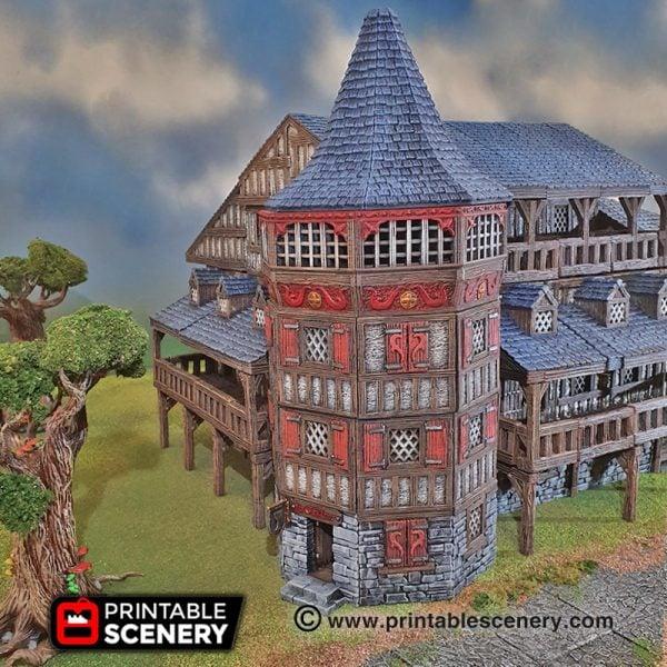 3d printed dnd Manor Inn