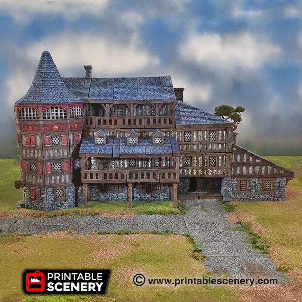 3d printed dnd Manor Inn