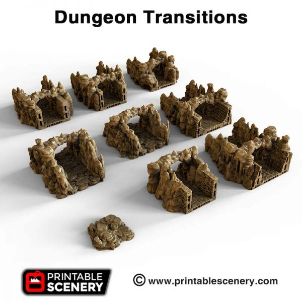 OpenLOCK Dungeon transitions