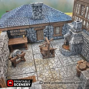 3d Printed Dungeons And Dragons Blacksmith Tools