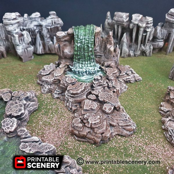 Grotto Cavern Water Pond Terrain