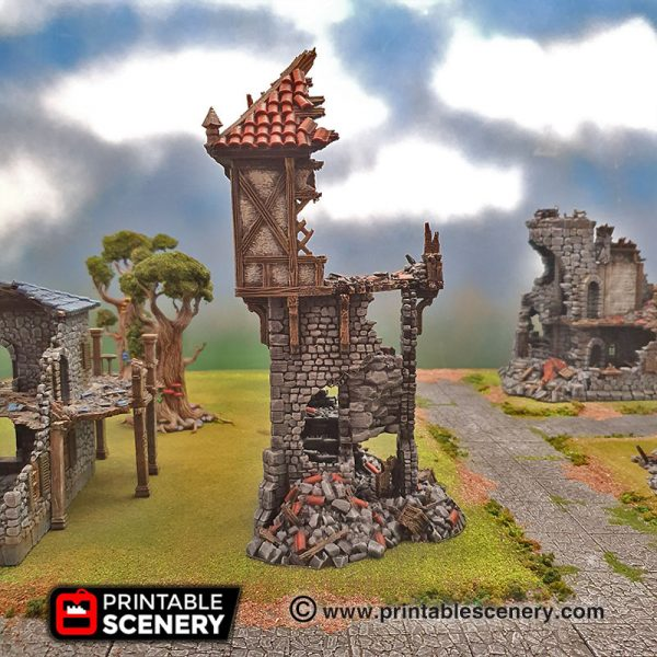 Ruined Winterdale Watchtower