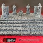 3d Printed Modular Stone Dais