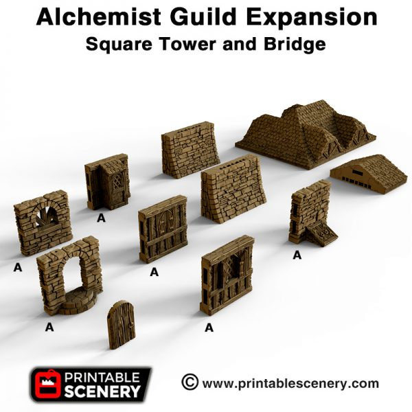 OpenLOCK Alchemist Guild Expansion