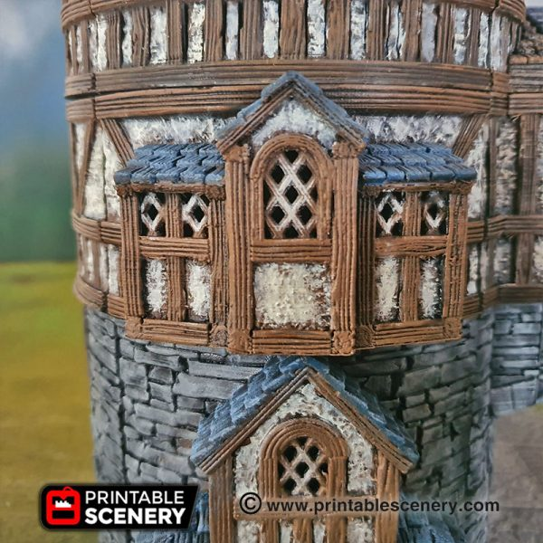 Dungeons and Dragons 3d Printable Alchemist Guild