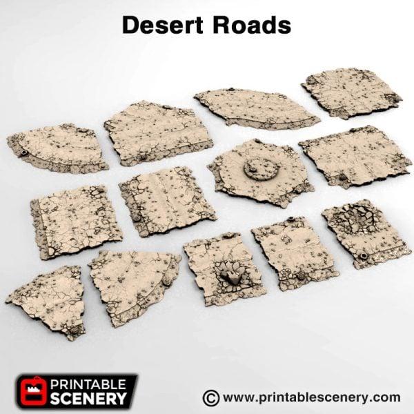 #d print desert roads Gaslands