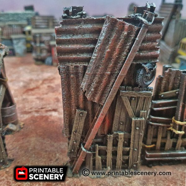 3d Printed Gaslands Fallout Post-Apocalypse Bastions