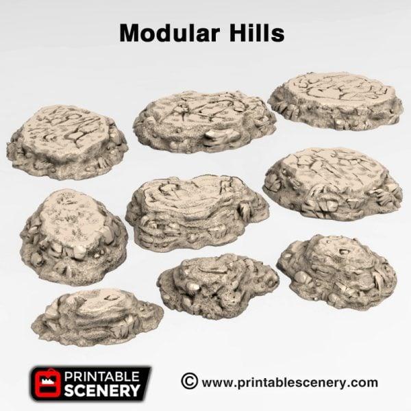 3d Print Modular hills