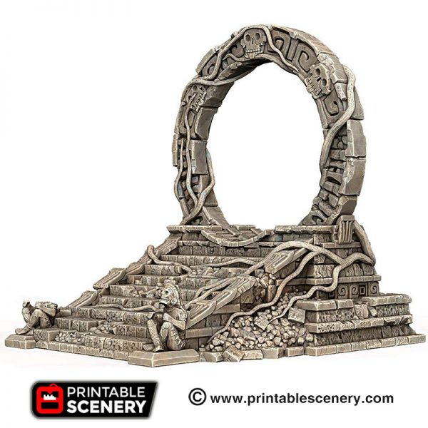 3d print Ruined Cosmic Gate