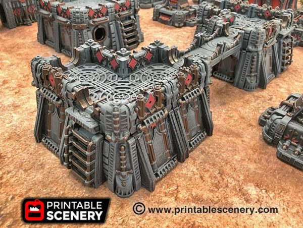 OpenLOCK Sithic Outpost 3d print