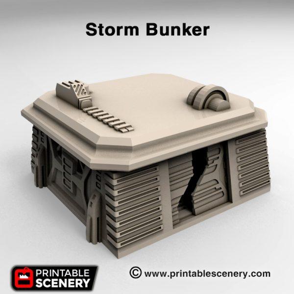 3d print Storm Bunker Star wars