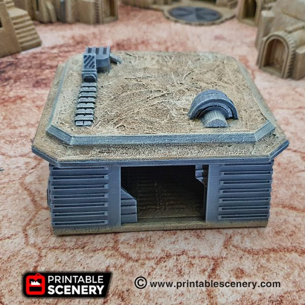 Adobe Sci-fi Settlement Star Wars Legion