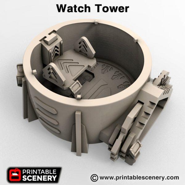 3d print Watch Tower star wars
