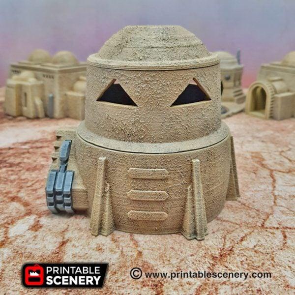 Adobe Sci-fi Settlement Star Wars Legion