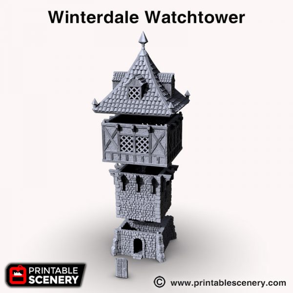 Winterdale 3d print Watchtower