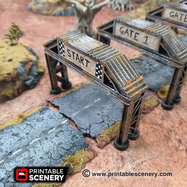 3d Printed Gaslands Fallout Post-Apocalypse